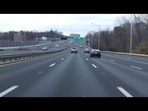 Henry Shirley Memorial Highway (Interstate 395) southbound (Local Lanes)