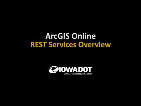 ArcGIS Online - REST Services Overview