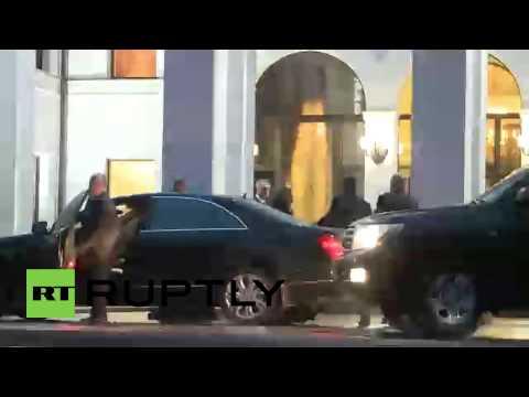 Belarus: Russia, Ukraine, DNR representatives arrive for Minsk peace talks