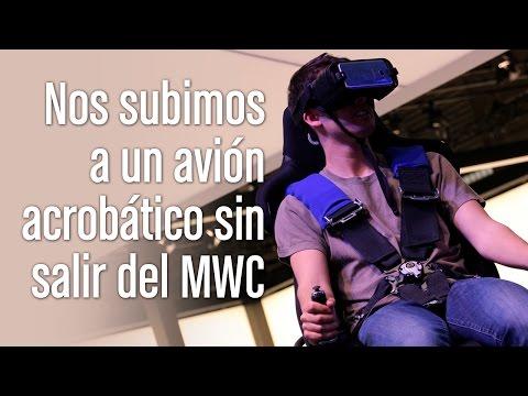 Probamos el simulador de aviación de Samsung VR