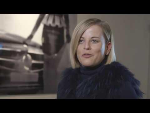 Susie Wolff At Mercedes Benz Fashion Week