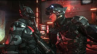 Batman: Arkham Knight (PC)(Batman Beyond Walkthrough)[Part 20] - Arkham Knight HQ [1080p60fps]
