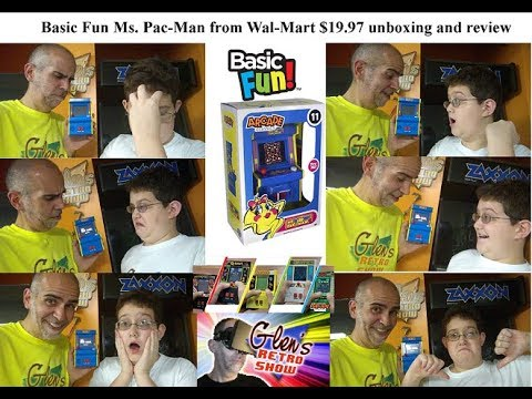 Ms. Pac-Man By Basic Fun Unboxing And Review