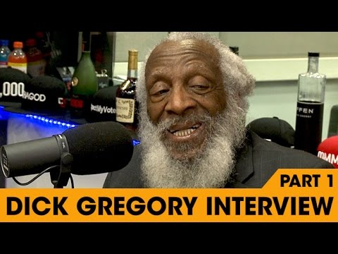 Dick Gregory Interview P1 at The Breakfast Club Power 105.1 (03/28/2016)