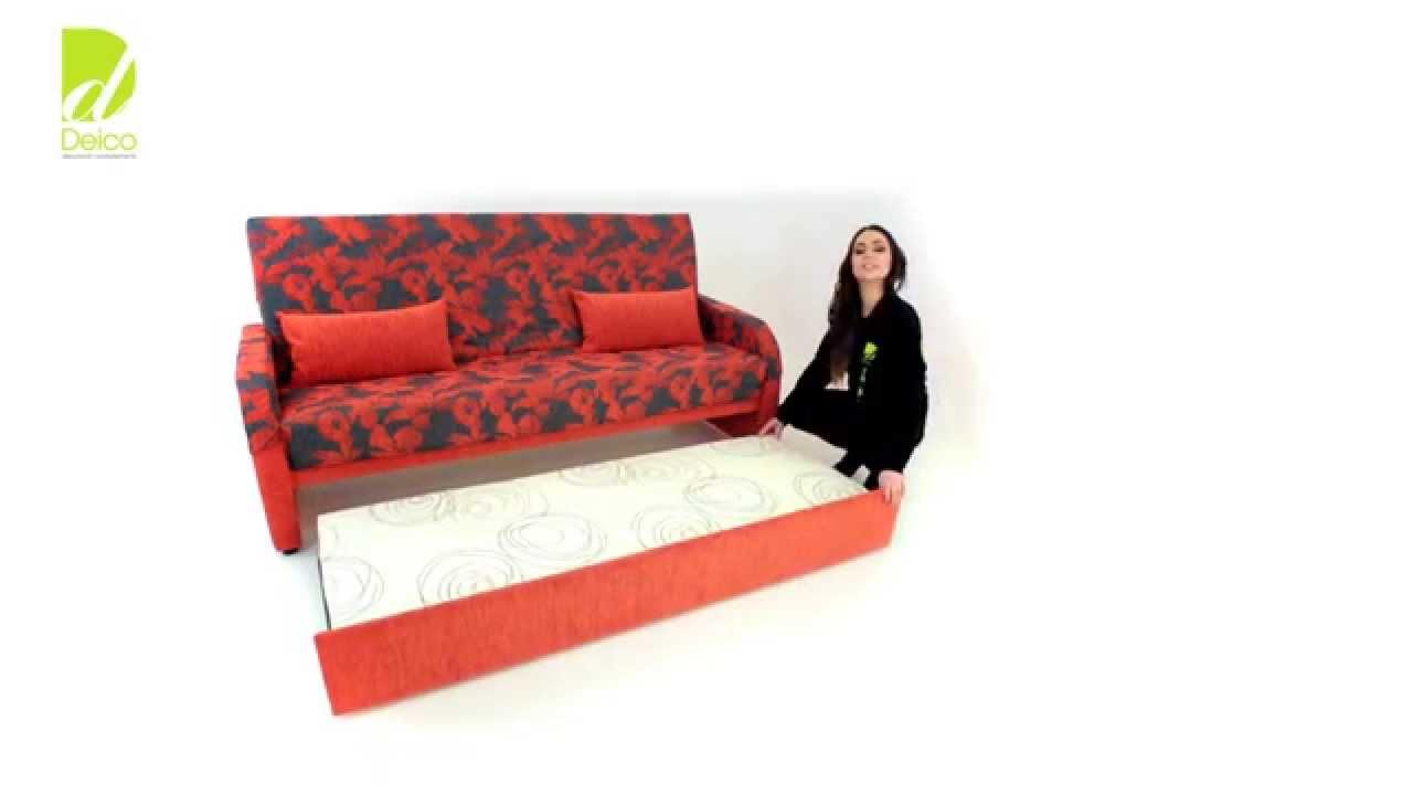 Deico cambrils sof cama tutorial sistema libro nido for Sofa cama de libro