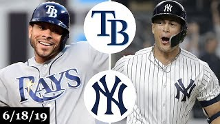 Tampa Bay Rays vs New York Yankees - Full Game Highlights | June 18, 2019 | 2019 MLB Season