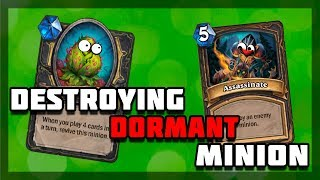 Hearthstone - Killing Dormant Sherazin, Corpse Flower