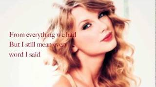 [3.36 MB] Haunted (Acoustic) - Taylor Swift (Lyrics)