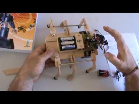 Arahal como hacer un robot hexapodo con 3 servos y arduino - Como hacer un toldo casero ...