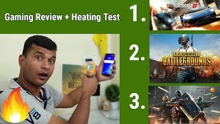 Samsung Galaxy J6 infinity Gaming Review With 3 Heavy Game + Heating Test Live in Hindi