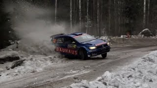 Rally Sweden 2019 Crash & Action