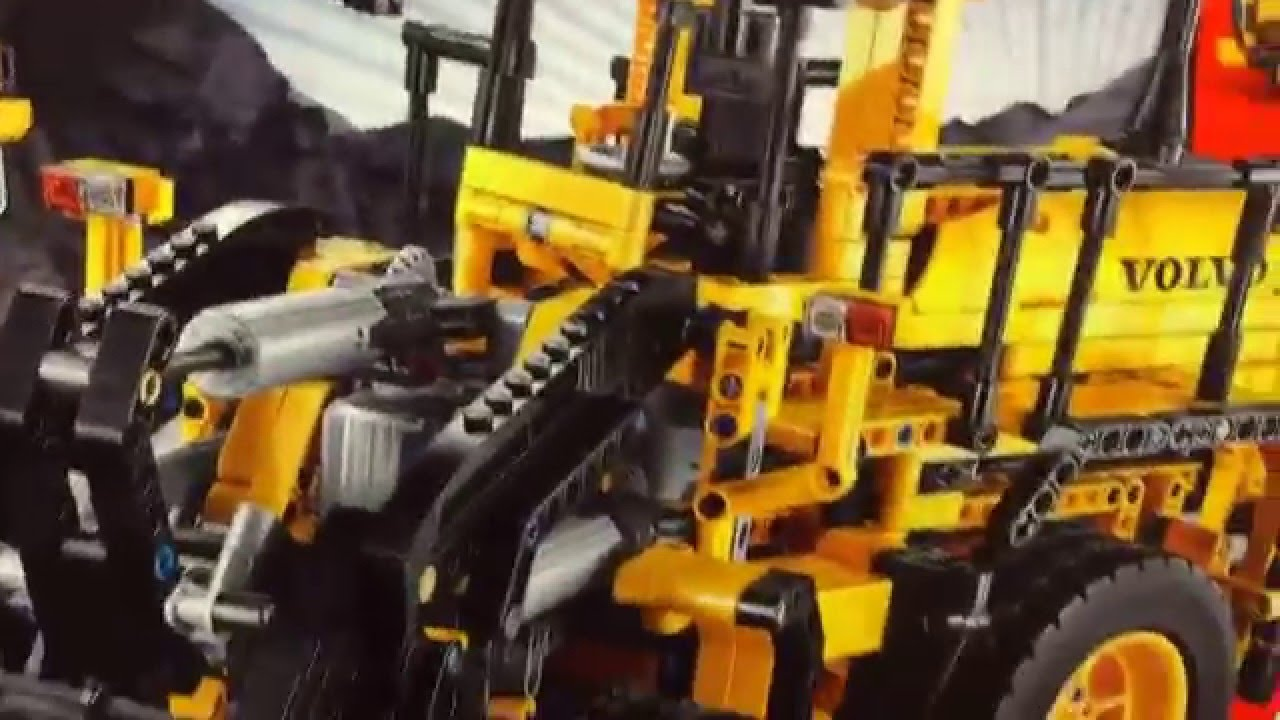 lego 42030 technic volvo l350f radlader youtube. Black Bedroom Furniture Sets. Home Design Ideas