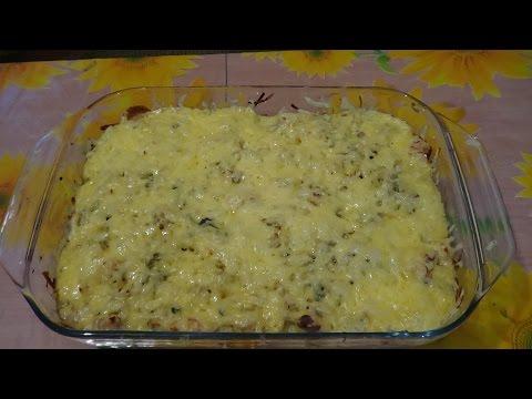 Картофельная запеканка с фаршем в духовке - пошагово