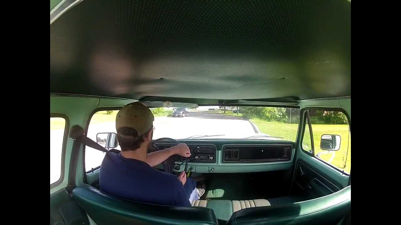 1977 Ford F250 Super Cab Youtube