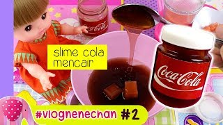 VLog NeneChan #2 Memperbaiki Slime menCair - Mainan Boneka GoDuplo TV