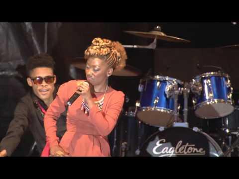 Deniz (Island Africa Talent) au Vivendi Festival Conakry