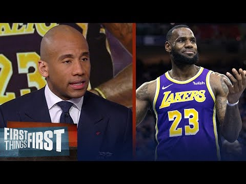 Dahntay Jones isn't buying the report Lakers considered trading LeBron | NBA | FIRST THINGS FIRST thumbnail