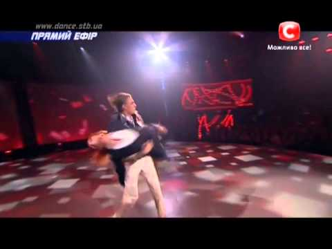 Танцуют все 6 сезон - Яна и Никита - Второй прямой эфир 06.12.2013