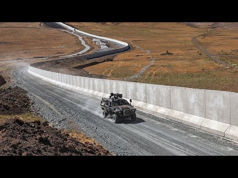 Turkey builds a border wall to stop refugees from Afghanistan