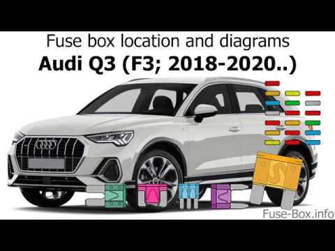 Fuse box location and diagrams: Audi Q3 (2018-2020..) - YouTube | Audi Q3 Fuse Box |  | YouTube