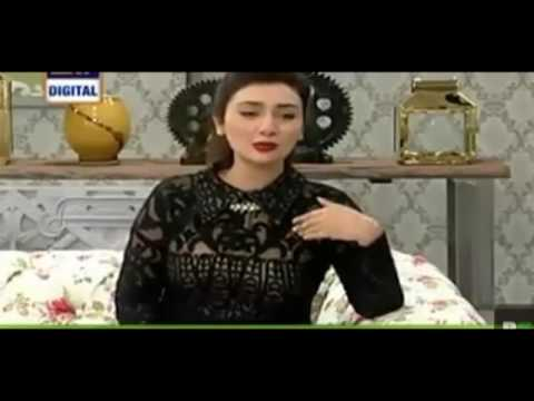 Ayesha Khan Telling About Her Relationship with Hamza Ali Abbasi
