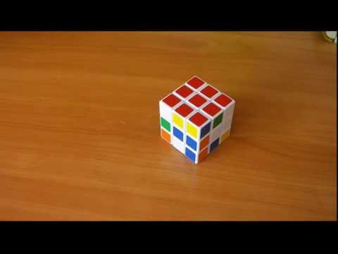 Как собрать кубик рубик одну сторону