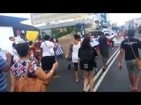 West Papua March Suva Feb 2015