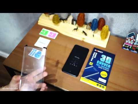 [ ฟิล์ม Galaxy S9 | S9 Plus ติดอะไรดี? ] ตอน กระจกกาวขอบจาก Commy - วันที่ 31 May 2018