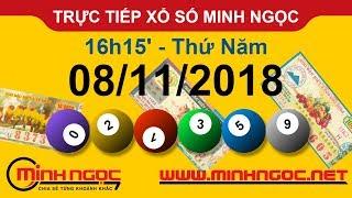 Xổ số Minh Ngọc™ Thứ Năm 08/11/2018 - Kênh chính thức từ Minhngoc.net.vn