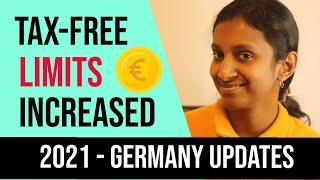 Tax free limits in germany are increased.updates on kindergeld, grundfreibetrag, kinderfreibetrag, pendlerpauschale, elterngeld, soli, minimum wages.https://...