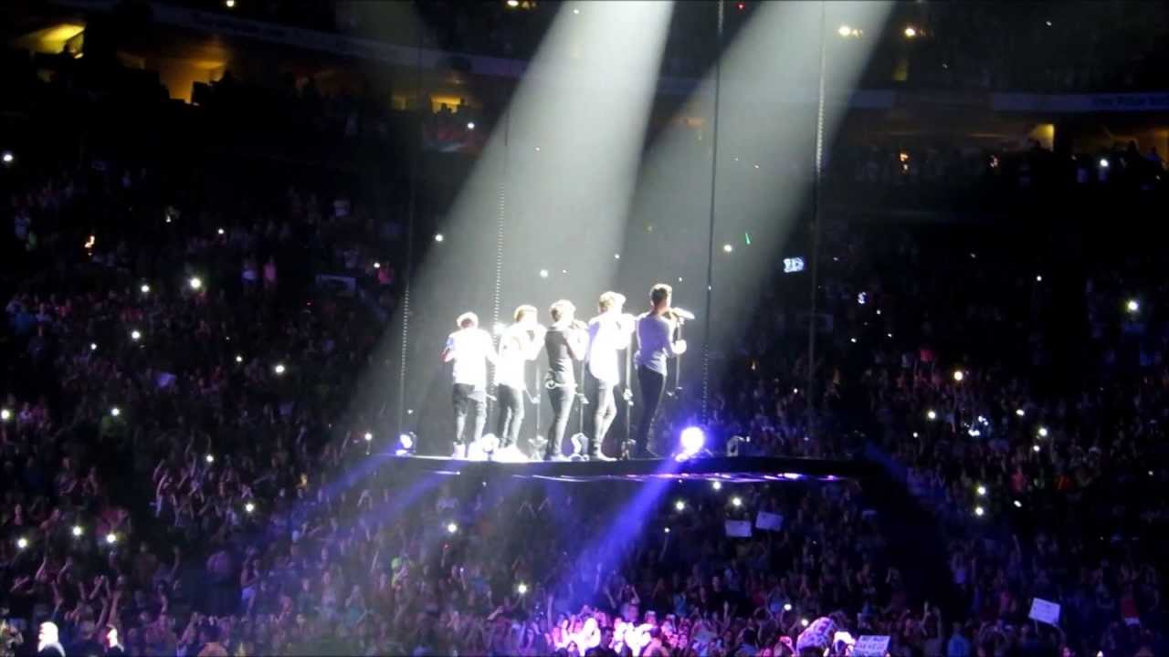 Oh No Not This Again >> Moments + Flying Over Crowd - One Direction - Columbus OH Concert 6/18/13 - YouTube