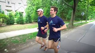 United In Stride sighted guide tutorial with audio description