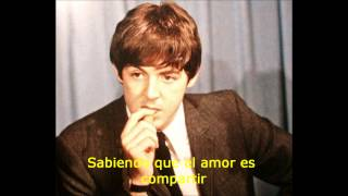 The Beatles-Here There and Everywhere HD (Subtitulada en Español)
