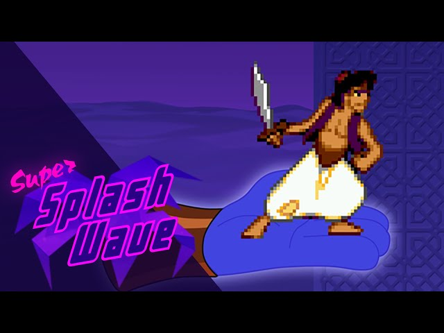 The Making of Aladdin - Cel animation in video games