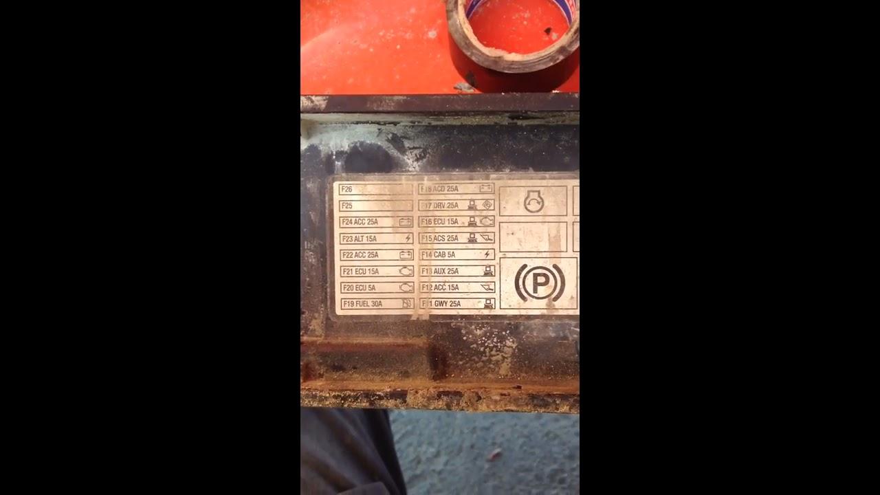 bobcat 450 fuse panel location  YouTube