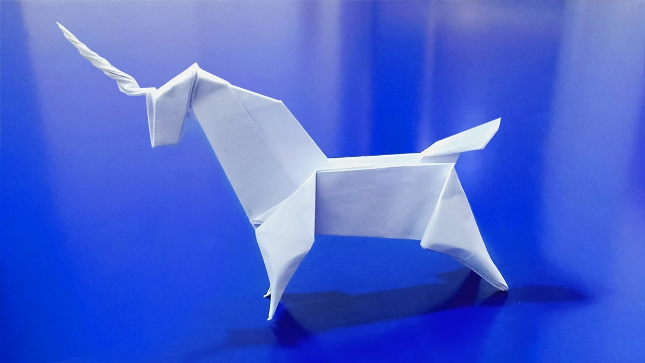 Cách Gấp Ngựa Giấy | How To Make Paper Horse