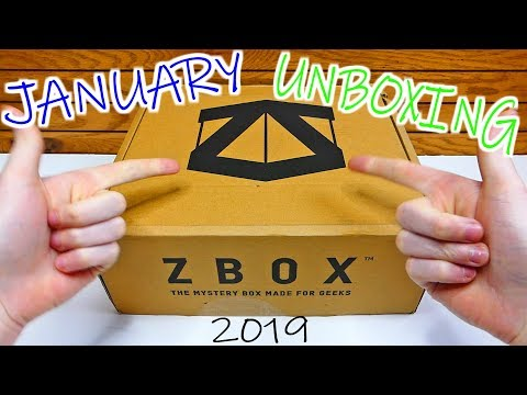 (JANUARY 2019) ZBOX - Unboxing [TRILOGY]