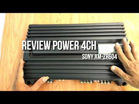 Review Power 4 Channel SONY XM-ZR604