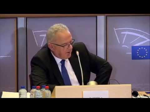 Kostas Chrysogonos asks Neven Mimica about development & environment