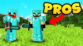 Minecraft: HOW PROS PLAY HUNGER GAMES