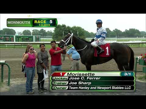 video thumbnail for MONMOUTH PARK 7-5-19 RACE 5