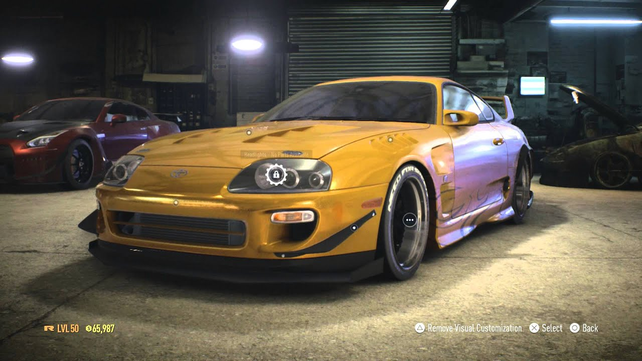 Wallpaper Toyota Supra Sports Car Need For Speed: Toyota Supra Top Speed
