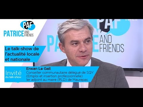 PAF – Patrice and Friends – avec Erwan Le Gall – Emission du 6 janvier 2017