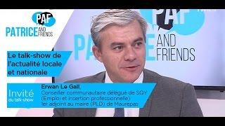 PAF – Patrice and Friends – avec Erwan Le Gall – Emission du 6 janvier 2017
