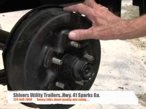 Shivers Utility Trailers