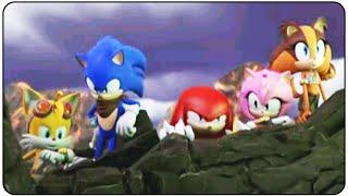 Sonic Boom Fire and Ice   All Cutscenes