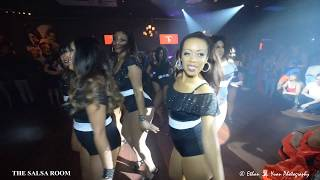 LADIES TOUCH Bachata Dance Performance At THE SALSA ROOM