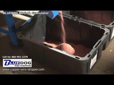Copper Chopper BDG-8L  - Granulate your scrap copper wire