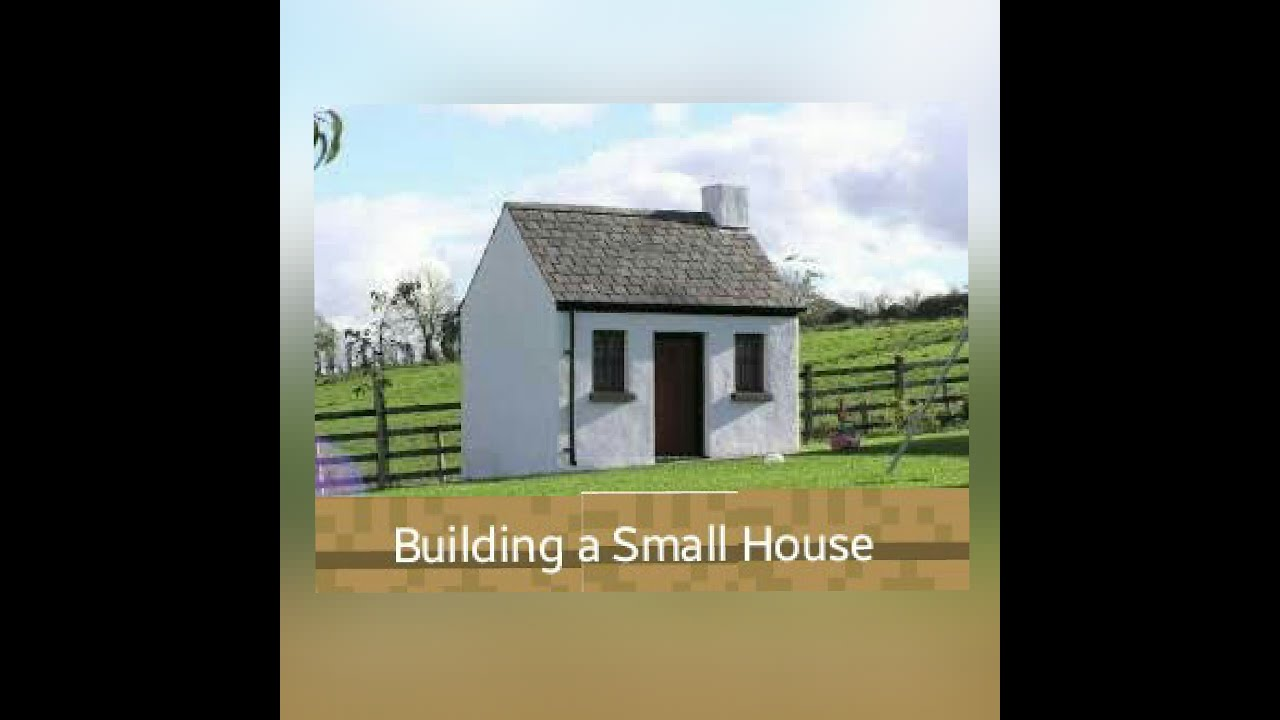 building a small house