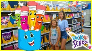 SCHOOL SUPPLIES SHOPPING 2018 | SISTER FOREVER